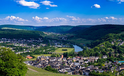 Saarburg Valley in Germany. Flickr:Gilbert Sopakuwa