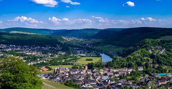 Saarburg Valley in Germany. Flickr:Gilbert Sopakuwa