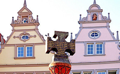 Market cross in Triet, Germany. Flickr:Dennis Jarvis