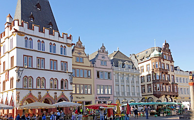 Haupmarket in Trier along the Mosel River, Germany. Flickr:Dennis Jarvis