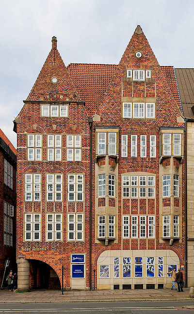 Atlantis House in Bremen, Germany. Creative Commons:Asavin