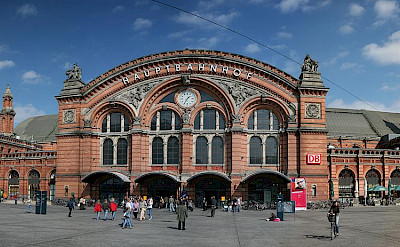 Hauptbahnhof in Bremen, Germany. Creative Commons:Daniel Schwen