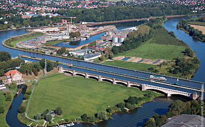 Bremen to Minden overview in Germany. Flickr:BAE Bundesanstalt