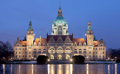 Neues Rathaus in Hannover, Germany. Creative Commons:Thomas Wolf