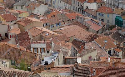 Les toits de Hyères in the Provence-Alpes-Côte d'Azur, France. Flickr:Jeanne Menjoulet