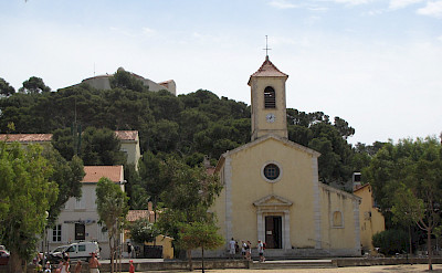 L'église on Porquerolles Island, Provence-Alpes-Côte d'Azur, France. Flickr:Stephane A.Gustin