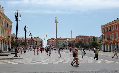 Place Messena in Nice, Provence-Alpes-Côte d'Azur, France. Flickr:Stephen Colebourne