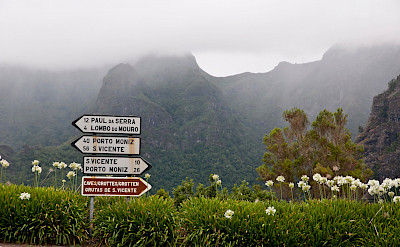 Signs in Madeira, Spain. Flickr:Jose Antonio Cartelle