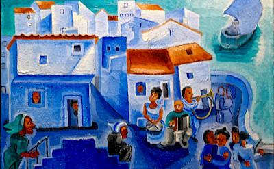 Painting of Madeira, Portugal. Flickr:Pedro Riobeiro Simoes