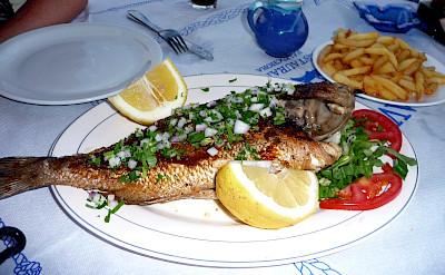 Restaurant in Paleochora, Crete, Greece. Flickr:Pat Neary