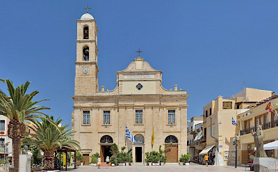 Cathedral in Chania, Crete, Greece. CC:Taxiarchos228