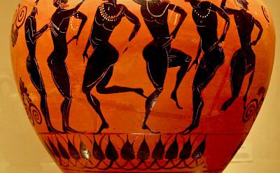 Greek pottery. Flickr:Sharon Mollerus