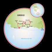 Hike & Bike Southern Crete Map