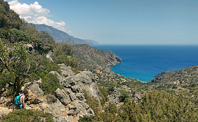 Hike and Bike in Southern Crete, Greece. Photo via TO