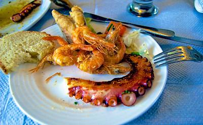 Fresh seafood in Crete, Greece. Flickr:Ben Ramirez