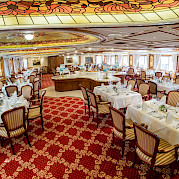 Dining Area | MS Prinzessin Katharina | Bike & Boat Tours