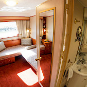 Twin Cabin | MS Prinzessin Katharina | Bike & Boat Tours