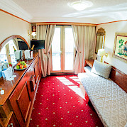Single cabin | MS Prinzessin Katharina | Bike & Boat Tours