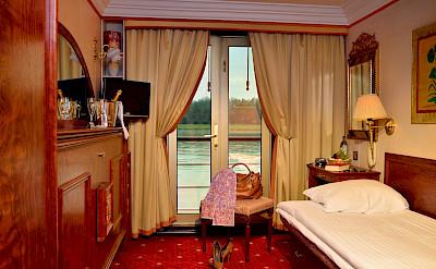 Single Cabin | MS Prinzessin Katharina | Bike & Boat Tours