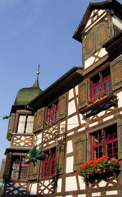 Great architecture around Lake Constance. © TO