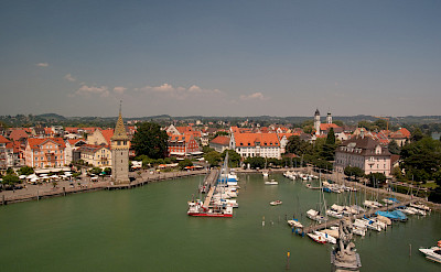 Island of Lindau on Lake Constance in Bavaria, Germany. Flickr:Lendog64