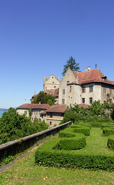 Castle in Meersburg (the Alte Burg) on Lake Constance in Germany. © TO