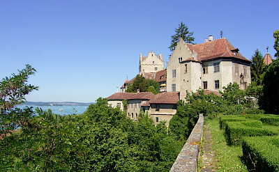 Alte Burg Castle in Meersburg on Lake Constance. © TO