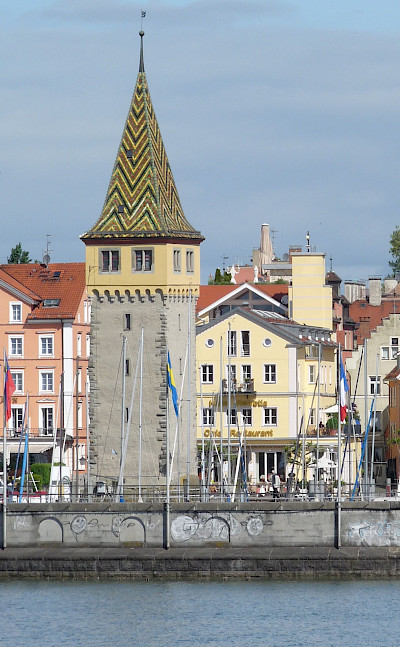 Steeple on the Lake Constance bike tour. © TO