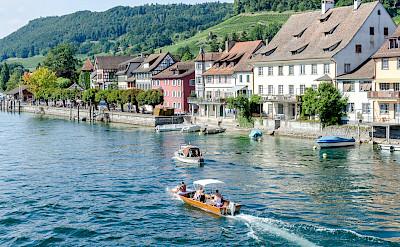 Stein-am-Rhein in canton Schaffhausen in Switzerland. Flickr:Luca Casartelli