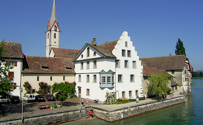 Stein-am-Rhein on the Bodensee (or Lake Constance). © TO