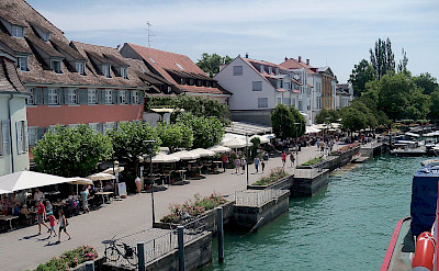 Überlingen on Lake Constance, Germany near the border with Switzerland. CC:win7sony