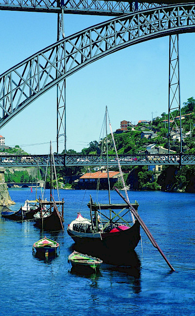 Boats on the Douro River in Portugal. © TO