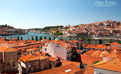 The classic red roofs of Porto, Portugal. Flickr:Alex Ristea
