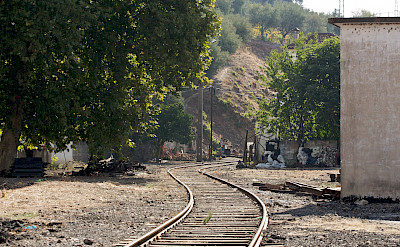 Railroad in Regua, Portugal. Flickr:Nunomarao