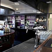 Well stocked bar on board | Serena | Bike & Boat