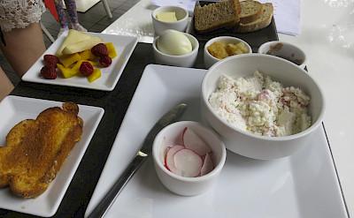 Polish breakfast in Warsaw, Poland. Flickr:Alper Cugun