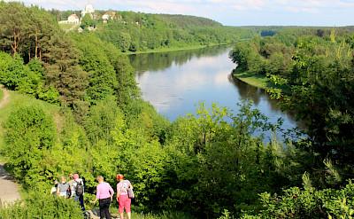 View of Nemunas River and Liskiava in Lithuania. Flickr:Aivar Ruukel