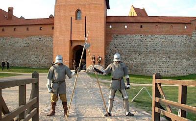 Trakai Island Castle in Trakai, Lithuania.