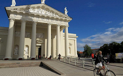Vilnius Cathedral in Lithuania.