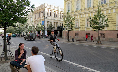 Old towns on the Lithuania, Poland & Belarus Bike Tour.