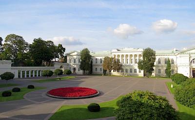 President's House in Vilnius, Lithuania.