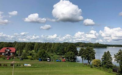 Wigry Lake on the Lithuania, Poland & Belarus Bike Tour.