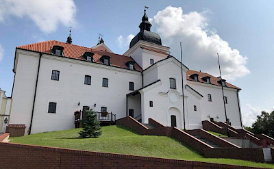 Monastery in Wigry on the Borderland of Lithuania, Poland, & Belarus Bike Tour.