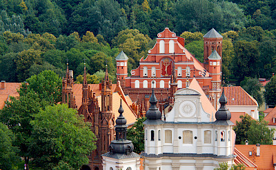 View from St Johns Belltower in Vilnius, Lithuania. Flickr:Sarunas Burdulis