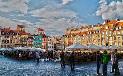 Old Town of Warsaw, Poland. Flickr:Gabriel Afab