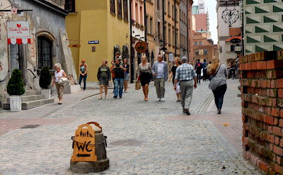 Bike rest in Warsaw, Poland. Flickr:Angelo Romano