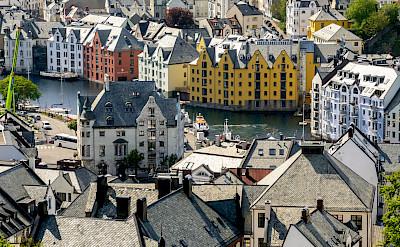Take time to explore beautiful Ålesund, Norway. Flickr:dconvertini