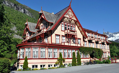 The famous Hotel Union from the 1890s in Øye, Norway. Flickr:Daniel Flathagen