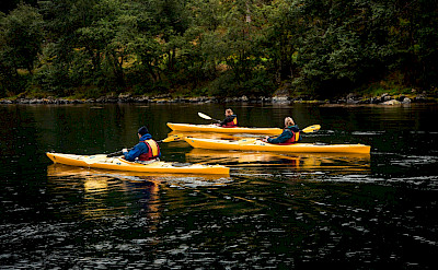Kayaking on the Western Fjords Norway Bike & Boat Tour