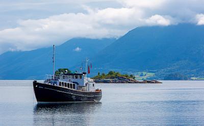 Sailing on the HMS Gåssten - Western Fjords Norway Bike & Boat Tour